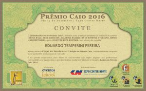 Convite - Eduardo Temperini Pereira